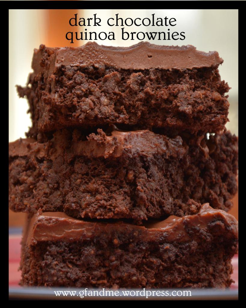 Healthy eats #2 Quinoa brownies
