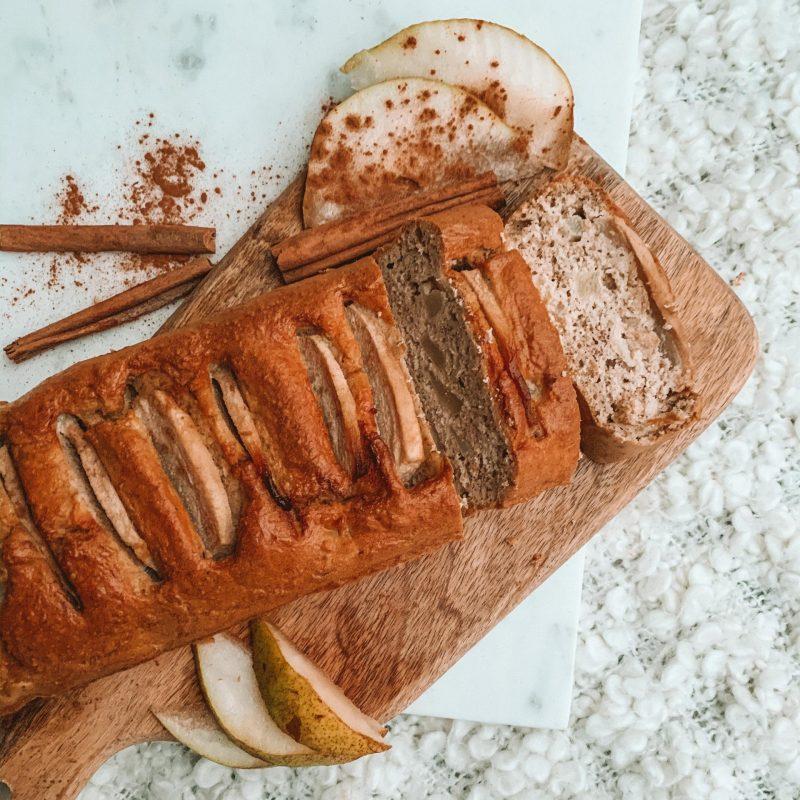 Kaneel-peren cake